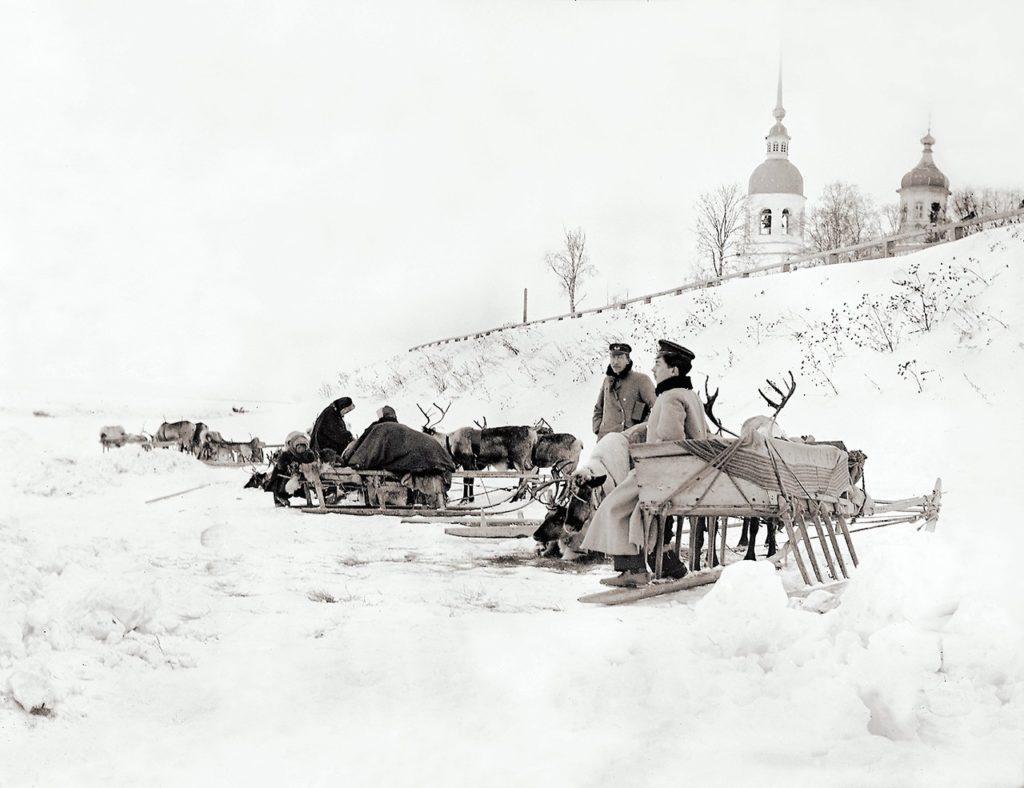 Arkhangelsk (Archangel) in winter - Sobor Mikhaila Arkhangela