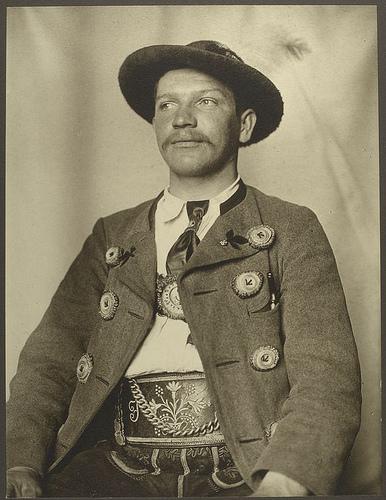 Bavarian man.
