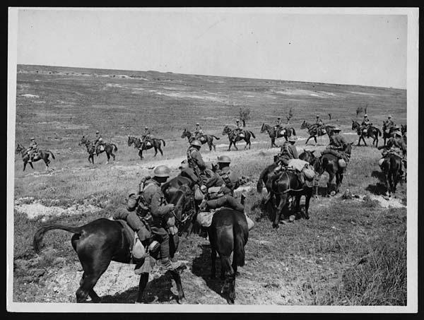 Cavalry moving forward