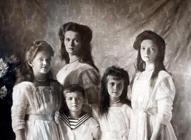 Children of Nicholas II