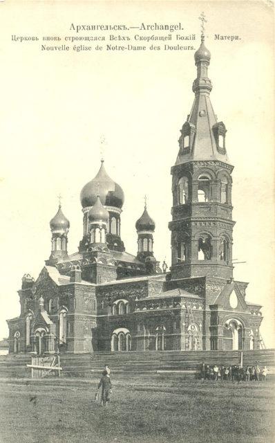 Church of All Sorrowful Mother of God (Hospital) - Arkhangelsk (Archangel)