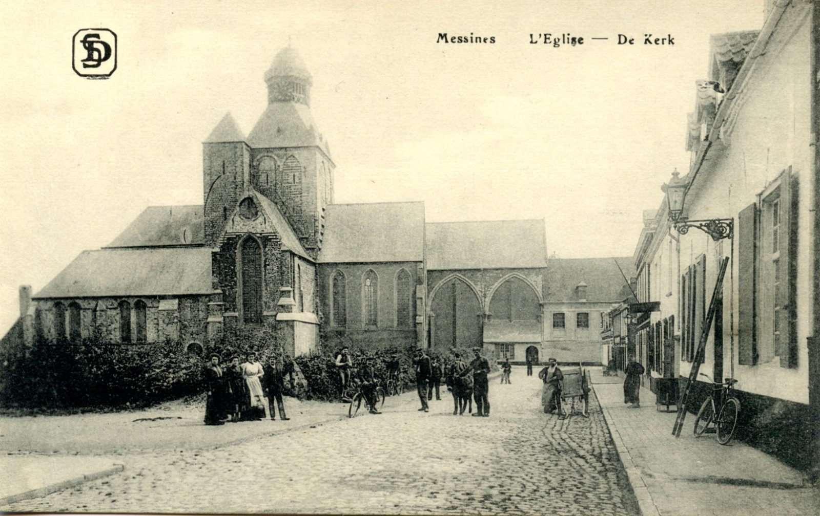 Church of St Nicholas, Messines
