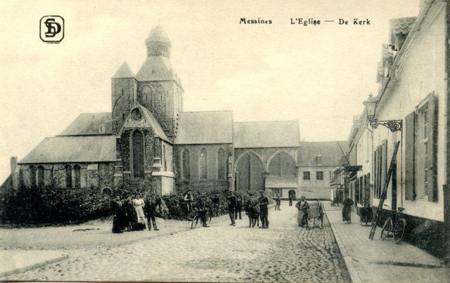 Church of St Nicholas, Messines