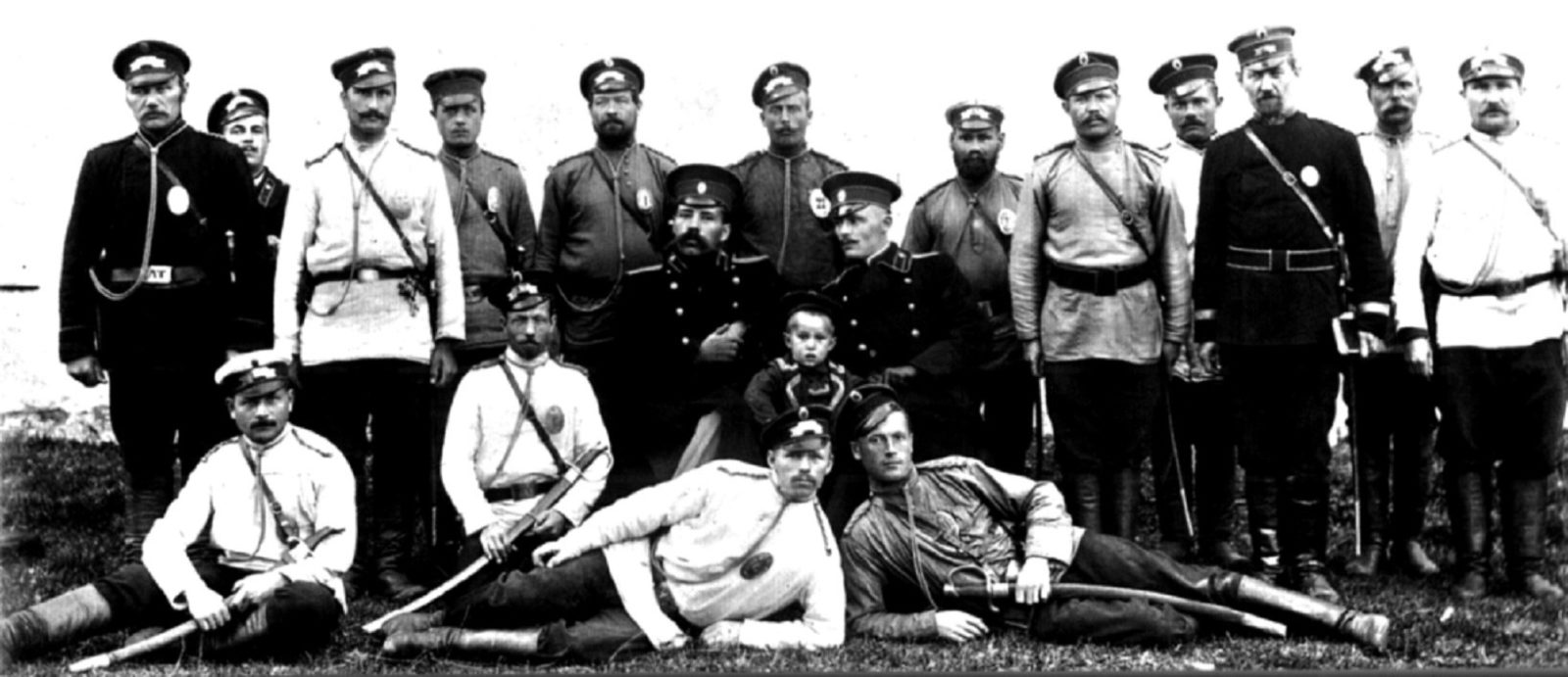 Employees of the Arkhangelsk provincial prison. 1910