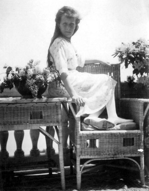 Grabd Duchess Anastasia. Livadia. 1914.