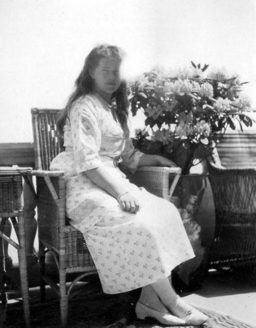 Grand Duchess Maria. Livadia. 1914 .
