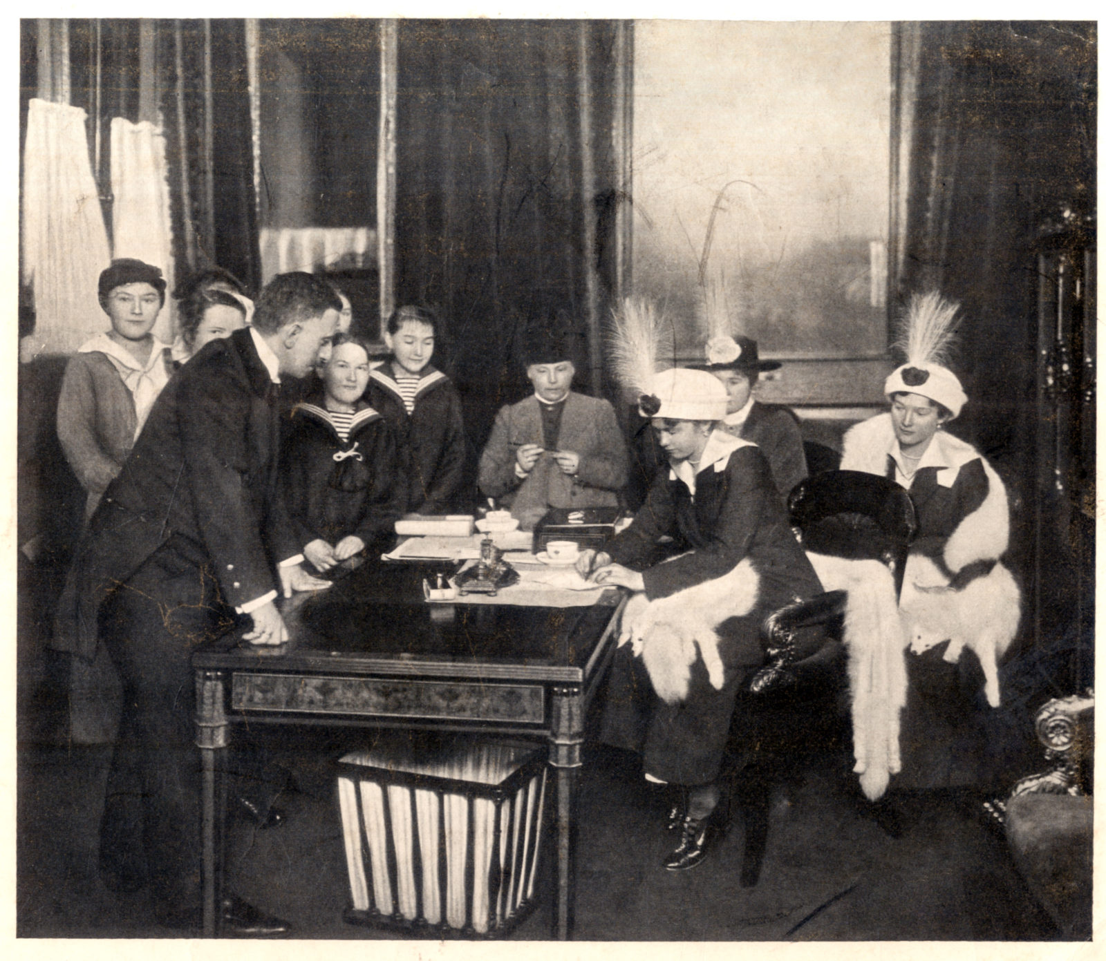 Grand Duchesses Olga and Tatiana