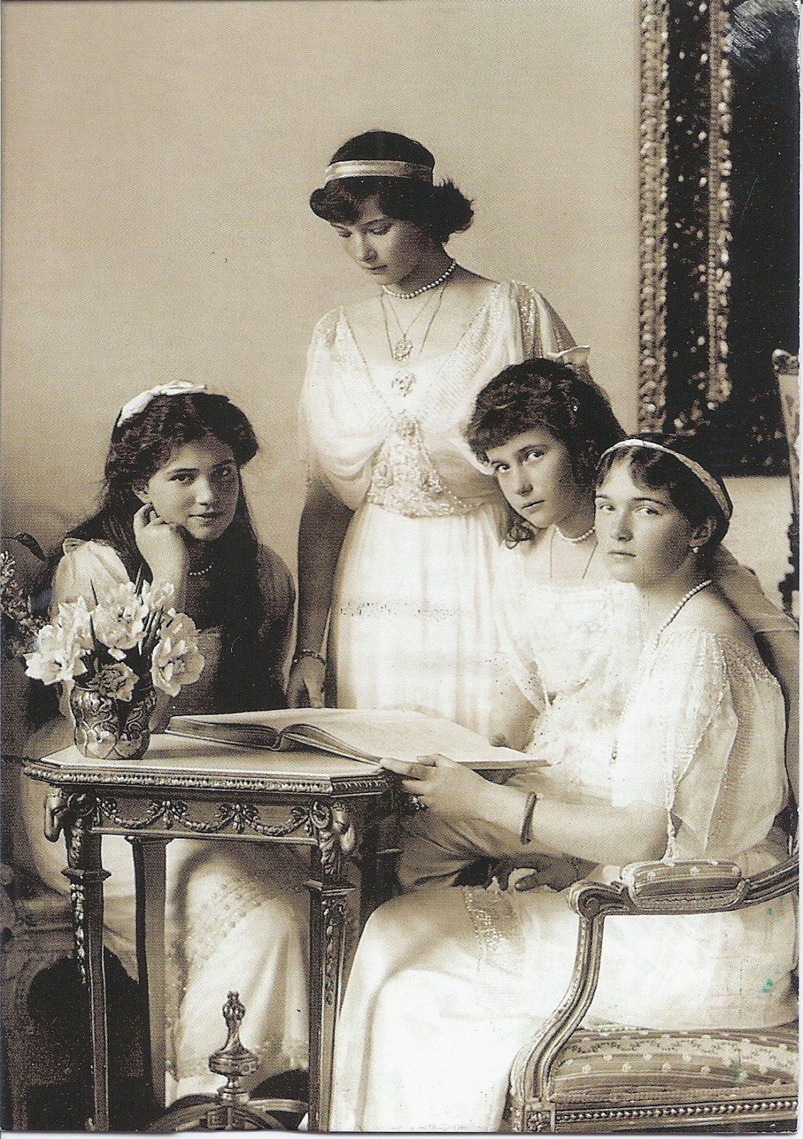 Grand Duchesses Olga, Tatiana, Maria Anastasia of Russia