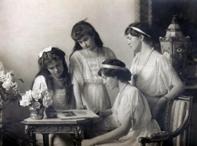Grand Duchesses OTMA 1914
