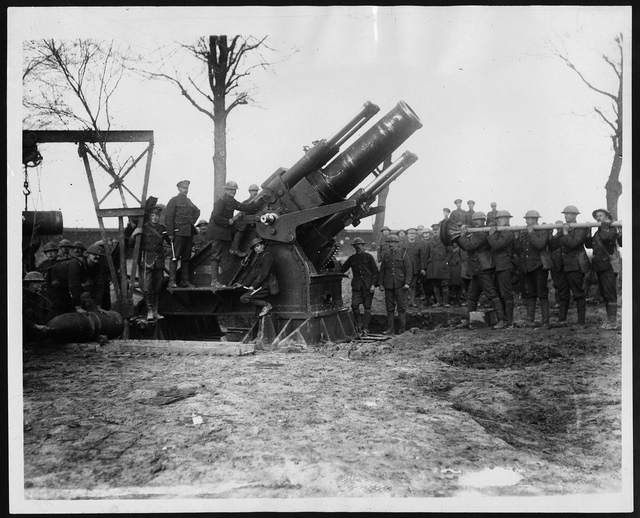 Howitzer, during World War I