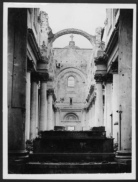 Interior of Arras Cathedral