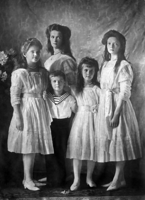 Kids of Nicholas II