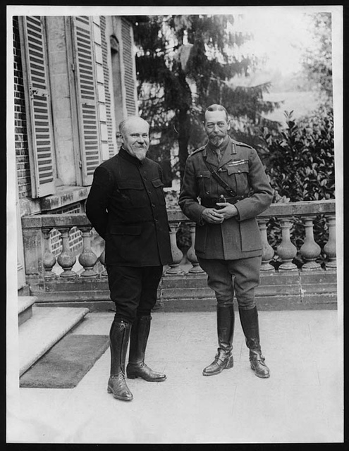 King and the President of France