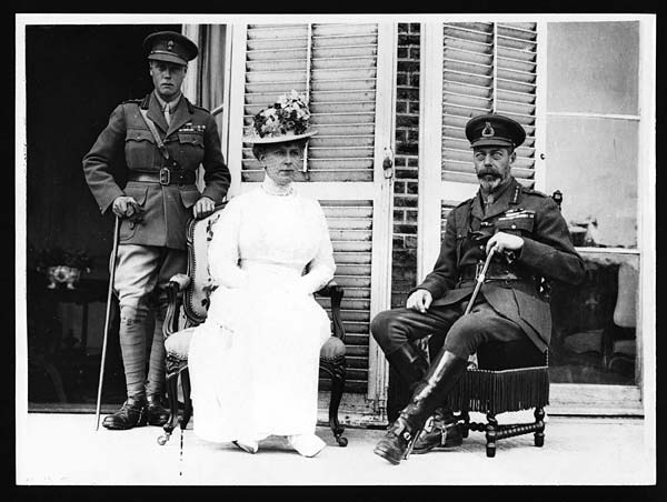 King & Queen and H.R.H. The Prince of Wales