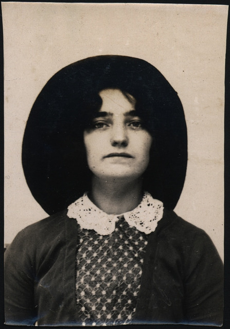 Lillian Tibbs, arrested for stealing a dress