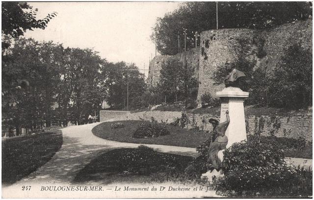 Monument du Dr Duchesne, Boulogne-Sur-Mer