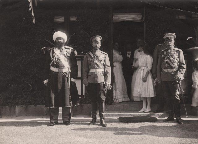 Nicholas II of Russia meeting Emir