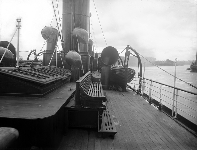 On Deck of S.S. Coningbeg