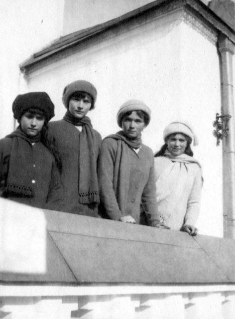 OTMA - Grand duchesses Tatiana, Olga, Maria, Anastasia