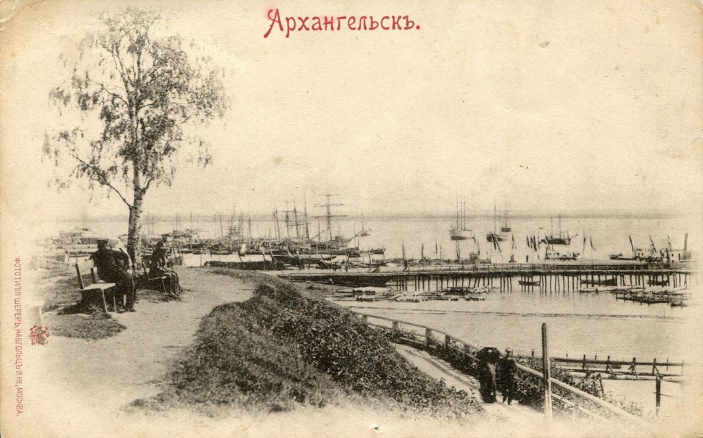 Port of Arkhangelsk, White sea, Northern Dvina River