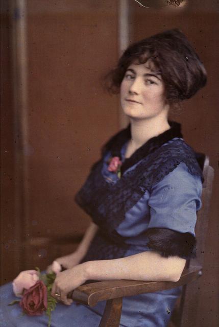 Portrait of Hugo's wife