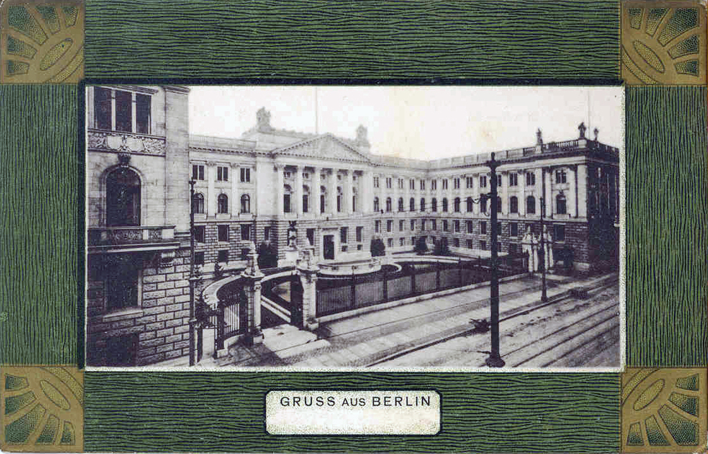 Berlin. Postcard of Wilhelmine Germany