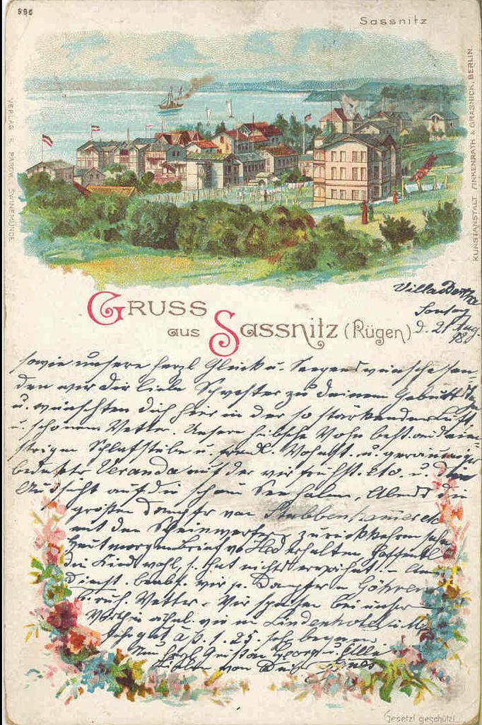 Postcard of Wilhelmine Germany