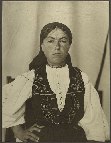 Romanian woman.