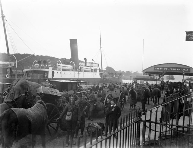 Soldiers Going Away II