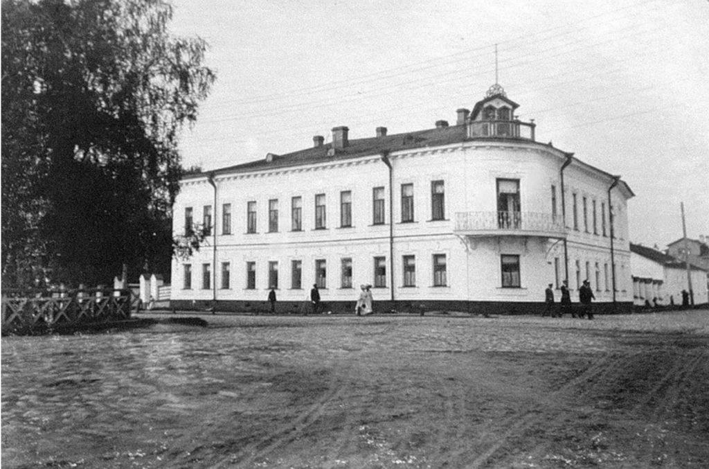 The house of merchant AI Kostogorov - Arkhangelsk (Archangel)