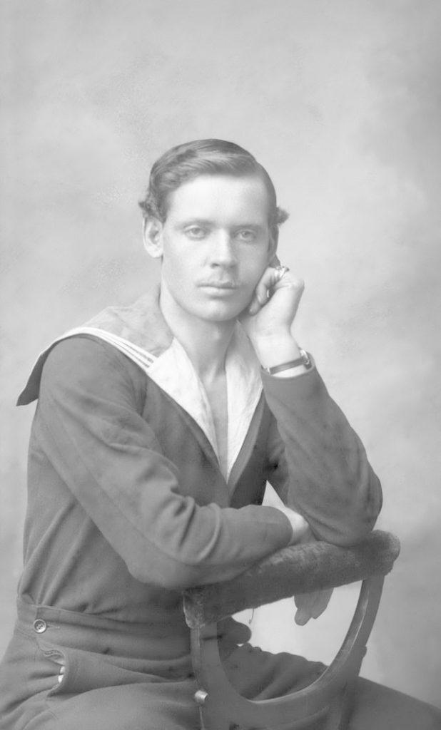 "The stoker of sturgeon, the chairman of the ship committee of the icebreaker ""Svyatogor"" Alexander Abramovich Terekhin - Arkhangelsk (Archangel)"
