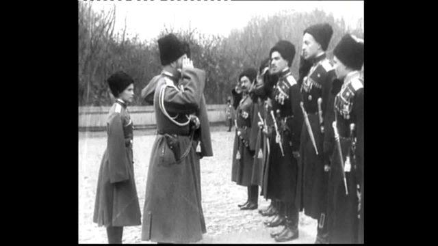 Tsar Nicholas II in Mogilev