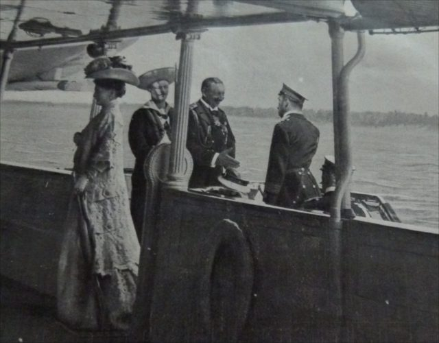 1909 -Tsar Nicolas II and Alexandra meet Kaizer