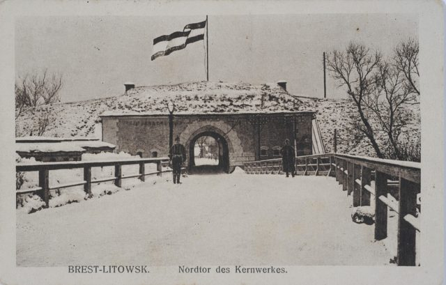 Abandoned Russian Fortifications of Brest-Litovsk, 1915