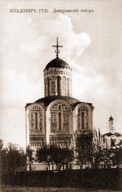 Dmitrievsky Cathedral, Vladimir Province