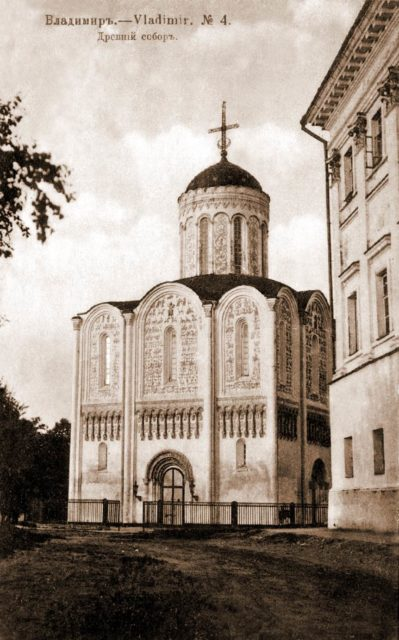 Dmitrievsky Cathedral, Vladimir