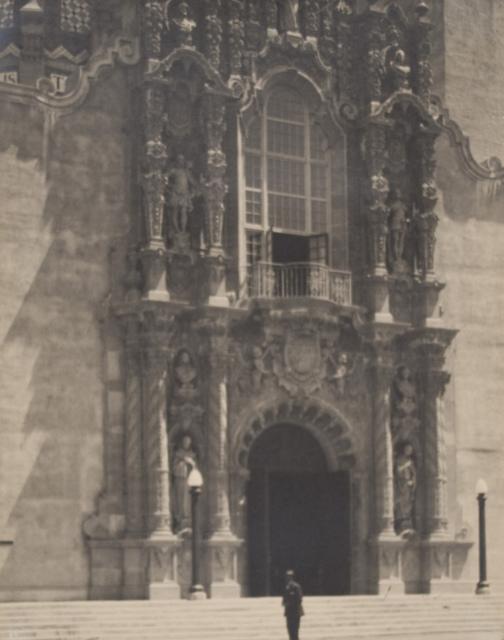 Entrance to California Building (Panama-California Exposition)