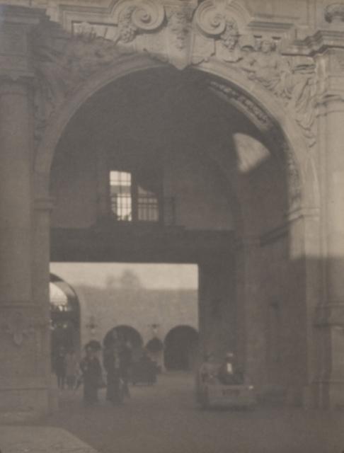Entrance to Plaza de California (Panama-California Exposition)