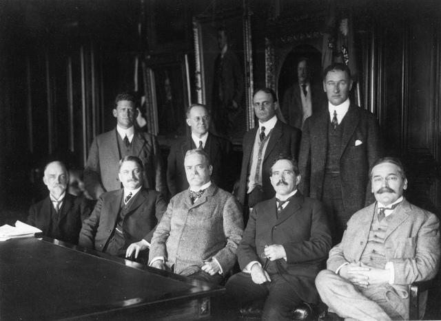 First meeting of NACA in 1915