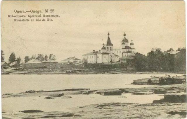 Kiy Island Cathedral of the Exultation, Onega