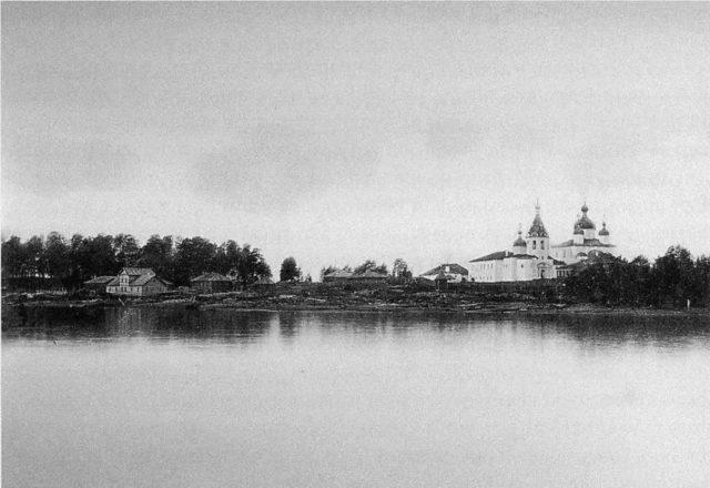 Cathedral of the Exultation, Onega, Arkhangelsk region, Russia, White Sea.