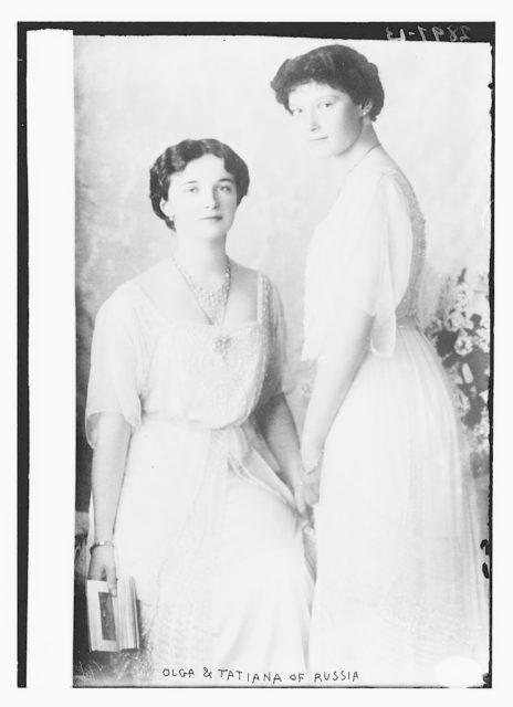Olga & Tatiana of Russia