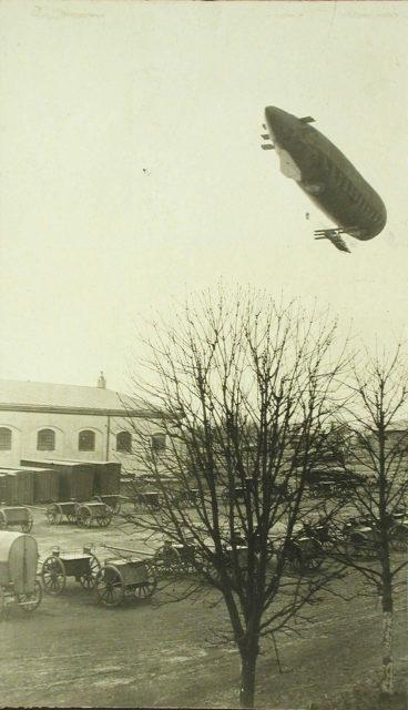 Russian airship Condor in test flight.