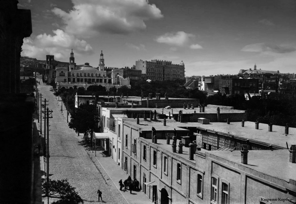 Sadovaya street - view from Mirbabaev's house
