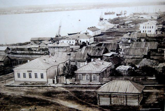 Port of Onega, Arkhangelsk region, Russia, White Sea.