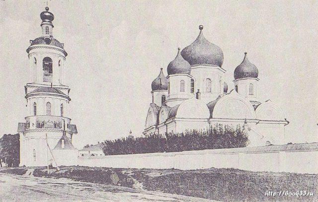 Vladimir - Monastery of the Nativity of the Virgin
