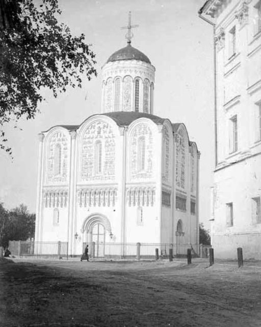 Vladimir - Ancient Dmitrievsky Cathedral