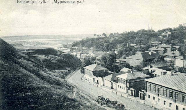 Vladimir, Murom Street.