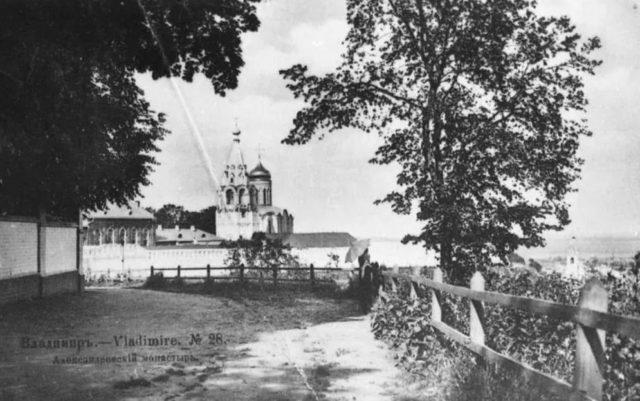 Vladimir, the Nativity Monastery view in summer