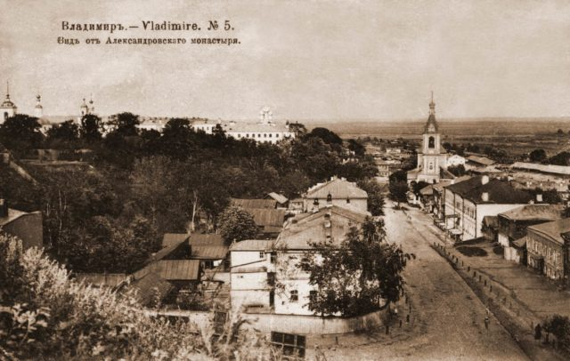 Vladimir, view from the Alexander Monastery